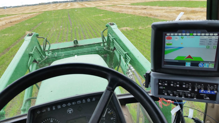 sprayer monitor